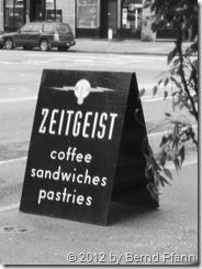 Zeitgeist Cafe in Seattle, 2012-02-28