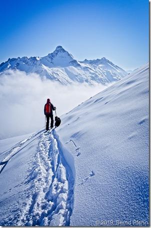 Biberkopf in den Allgäuer Alpen
