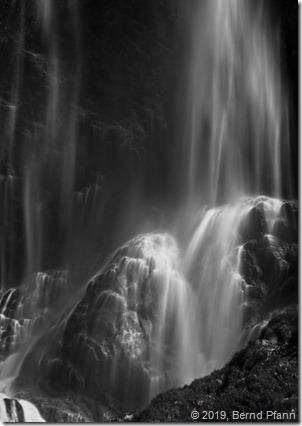 Miesbach Wasserfall mit ND2000 Filter