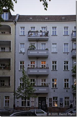 Typisches Berliner Wohnhaus