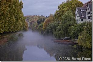 Der Neckar in Tübingen