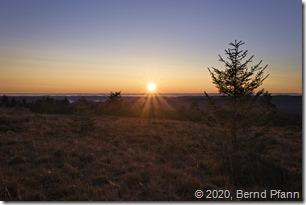 Sonnenaufgang auf dem Schilffkopf