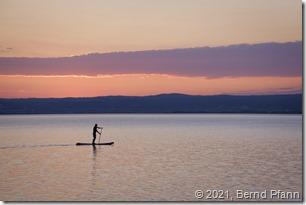 Neusiedler See am Abend